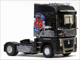 renault trucks magnum eligor tracteur renault magnum truck route 66 black 114151 in