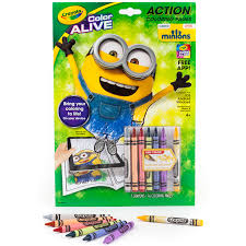 amazon crayola color alive animated minions pages toys u0026 games