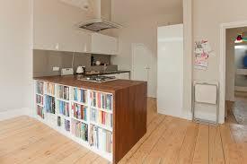 kitchen bookshelf ideas cookbook ideas kitchen contemporary with wood floor wood floor built