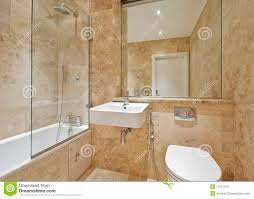 Marble Bathroom Brown Marble Bathroom Stock Photo Image 11511070