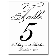 wedding table number fonts table numbers template ivedi preceptiv co
