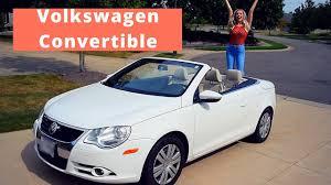volkswagen convertible eos volkswagen convertible eos car tour 2017 emma vega youtube