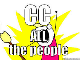 Cc Memes - cc all the people quickmeme