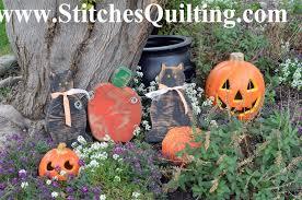 wooden halloween yard decorations