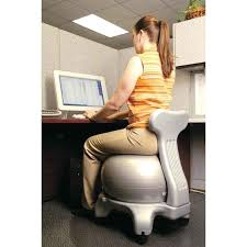 Desk Chair Workout Desk Exercise Ball For Chair Benefits What Size Stability Ball
