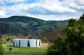 Energy House by Low Energy House Is Surrounded By Beautiful Woods And Hills Of