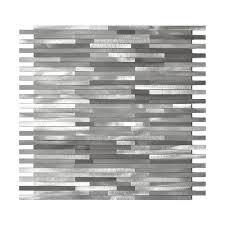 Aluminum Backsplash Sheets by Eden Mosaic Tile Emt Al12 Mix Cb 11pk 11 Pack Grey Blends Thin