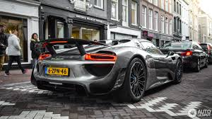porsche 918 spyder black porsche 918 spyder weissach package 27 july 2016 autogespot