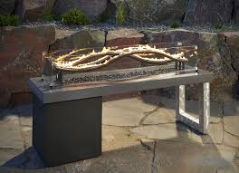 Table Firepit Pit Tables Outdoor Fireplaces For New Home Designs Living Of