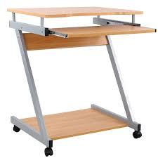 bureau informatique songmics bureau informatique table informatique meuble de bureau