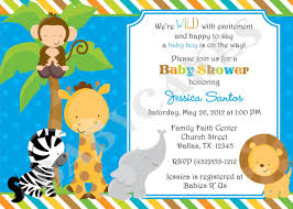 best collection of safari baby shower invitations trends in 2017