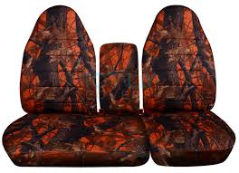 Ford Camo Truck Accessories - 1996 2003 ford f 150 40 60 camo truck seat covers console armrest