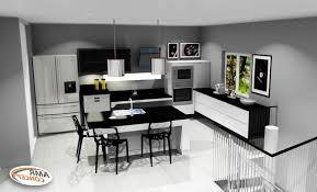 cuisine moderne avec ilot exceptional cuisine en l avec îlot 12 hauteur ilot central