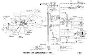 1968 mustang dash cluster wiring diagram wiring diagram simonand