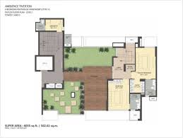 ambience tiverton sector 50 noida floor plan 9810995851