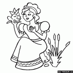 coloring pages printable marvelous ideas princess online coloring