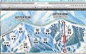 Park City Utah Map by Park City Utah U2013 10 000 Feet Raw U2013 Jupiter Peak 1 11 16 Surf Ski