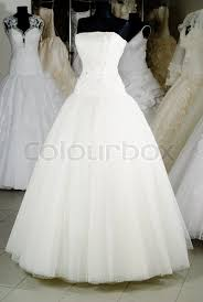 the wedding dress shop wedding dress shop with many objects stock photo colourbox