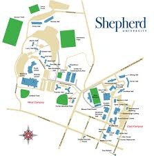 University Of Tennessee Parking Map by Shepherd University Shepherd University Women U0027s Basketball