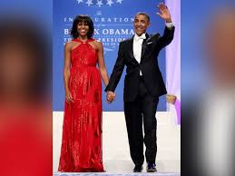 obama dresses stunning and symbolic inaugural fashions through the
