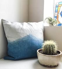 Indigo Home Decor Indigo Dyed Mountain Range Pillow Home Decor U0026 Lighting