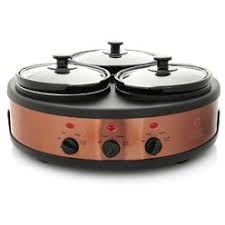 tru dual crock buffet slow cooker