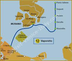 venice vaporetto map water venice vaporetto map of line 12 actv