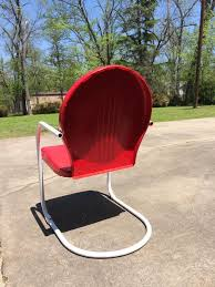 9 best vintage metal lawn chairs images on pinterest lawn