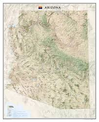 National Geographic Map Buy Arizona Sleeved By National Geographic Maps