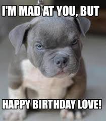 Im Mad At You Meme - meme maker im mad at you but happy birthday love