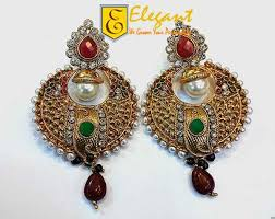 artificial earrings newest fashion of artificial earrings collection 2015 for