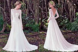 rustic wedding dresses 14 best rustic wedding dresses everafterguide
