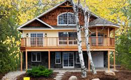 Small Post And Beam Homes Cedar Mill Log Homes Log Houses Log Packages Log Home Kits Log
