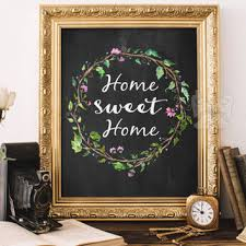 home sweet home decorations home sweet home printable wall art from butterflywhisper on
