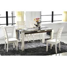 cheap marble top dining table set 6 seater round dining table and chairs china china cheap marble top