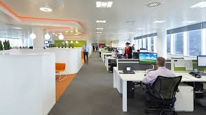 open floor plan office space facebook open plan office to be rich in distractions abc news