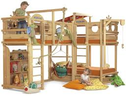 Play Bunk Beds Play Bunk Beds Large Families Woodland Kidsomania Dma Homes 90102