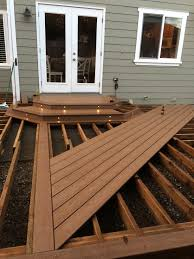 Trex Lighting Trex Decking Beach Dune It Started With A House