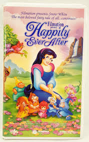 vhs happily ever after by filmation phyllis diller zsa zsa gabor