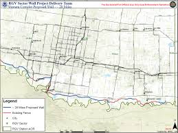 Houston Transtar Map Photos Proposed Border Wall Maps Khou Com