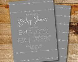 gender neutral baby shower invitation etsy