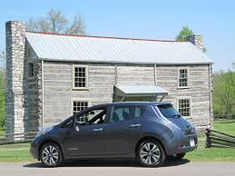 nissan leaf onboard charger 2013 nissan leaf driven through tennessee countryside