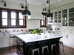 white country kitchen ideas white and black country kitchen 25 beautiful black and white