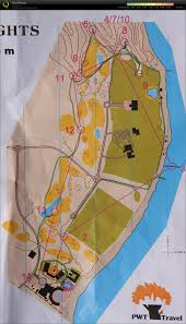 Egypt Africa Map by Orienteering Map In Egypt