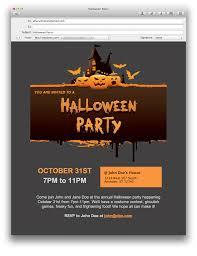 halloween email invitation templates u2013 fun for christmas