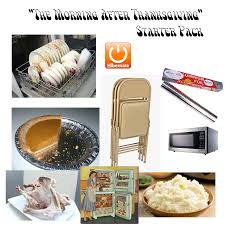 thanksgiving report the morning after thanksgiving starter pack starterpacks
