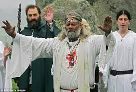 pagan ceremonial robes pagan prisoners to be handed tarot cards as part of new ministry
