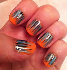orange color nail artcolornailsart 25 best ideas about orange