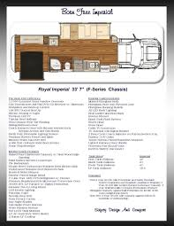 Free Floorplan 2016 Born Free Rv U0027s Simplebooklet Com