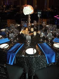 Blue Table L Black Table Setting Ideas Nurani Org